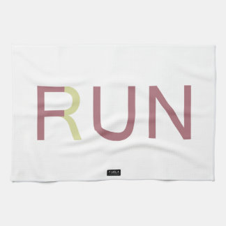 Fun Run Kitchen Towel