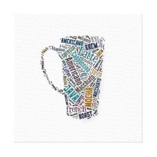 Fun Sayings Quote - Coffee, Java, … … Canvas Print