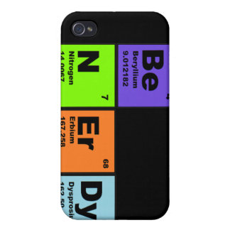 Fun Science iPhone Case iPhone 4 Cover