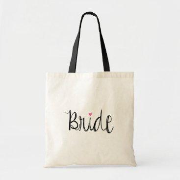 Orabella Fun Script Bride Tote Bag
