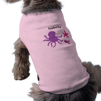 Fun Sea Creatures Doggie Tank Top
