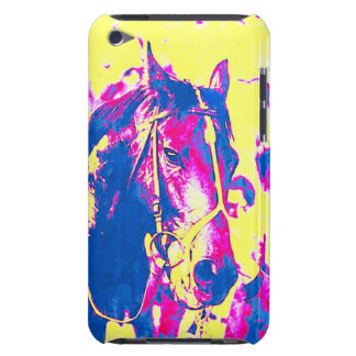 Fun Seattle Slew Thoroughbred Racehorse Watercolor Barely There iPod Cases