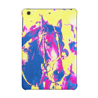 Fun Seattle Slew Thoroughbred Racehorse Watercolor iPad Mini Covers