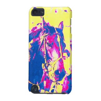 Fun Seattle Slew Thoroughbred Racehorse Watercolor iPod Touch (5th Generation) Case