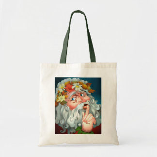 FUN SECRET SANTA GIFT BAG HOLIDAY TOTES BAGS