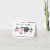 Fun Sheep Christmas Card