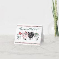 Fun Sheep Christmas Card