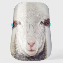 Fun Sheep Face Shield