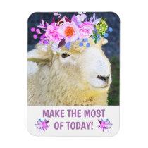 Fun Sheep Inspirational Magnet
