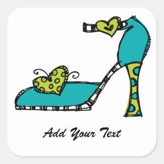 Fun Shoe Sticker