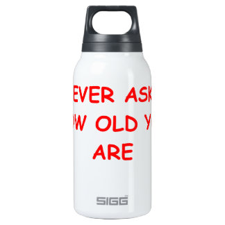 FUN 10 OZ INSULATED SIGG THERMOS WATER BOTTLE