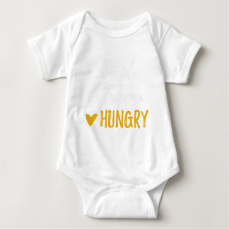 Fun Single Taken HUNGRY Eat Status Valentine's Day Baby Bodysuit