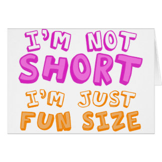 Fun Size Card