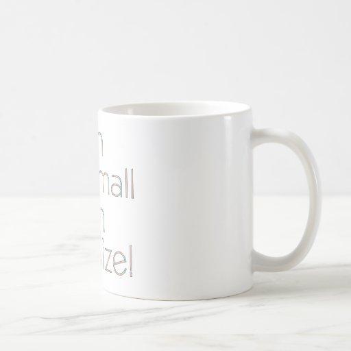 Fun Size Color Classic White Coffee Mug
