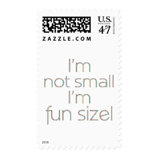 Fun Size Color Postage