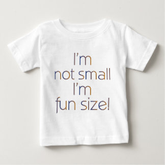 Fun Size (MultiColor Dark) Baby T-Shirt