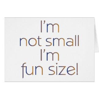 Fun Size (MultiColor Dark) Card