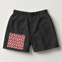 Fun Sketchy Hearts Pattern Boxers