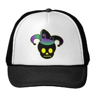 Fun Skull Jester Tattoo Trucker Hat