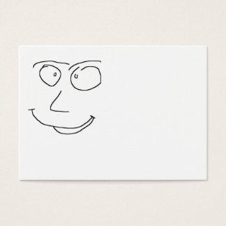 Fun Smiley Business Card