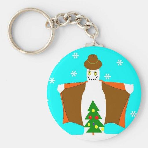 fun snowman keychains