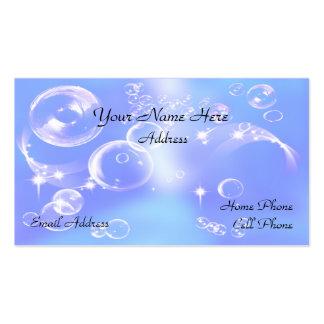 Fun Soap Bubbles Business Card