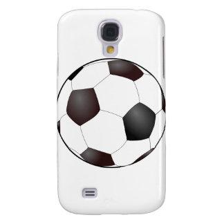 Fun Soccer Ball European Football Graphic Samsung Galaxy S4 Covers