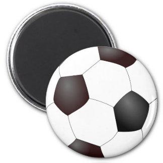 Fun Soccer Ball European Football Graphic Magnet