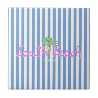 Fun South Beach, Florida Tile