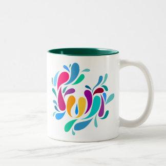 Fun Splash Text Design Mug