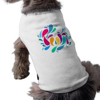 Fun Splash Text Design Pet Clothing