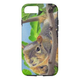Fun Squirrel in Tree iPhone 7 Case