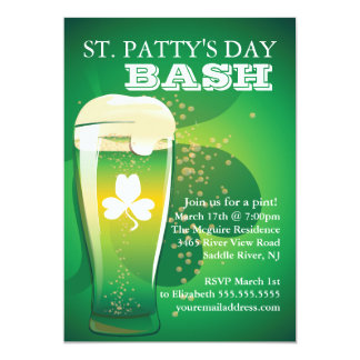 Fun St. Patrick's Day Party Invitation
