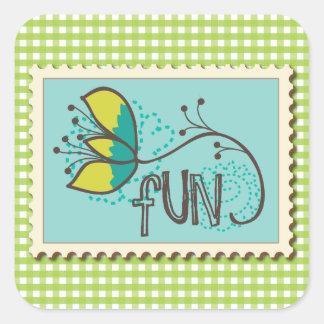 Fun Stamp Stickers