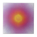 Fun starburst spinart tiles
