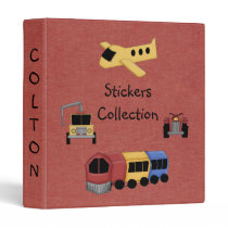 Fun Stickers Collection Notebook Keeper Avery Bind 3 Ring Binder