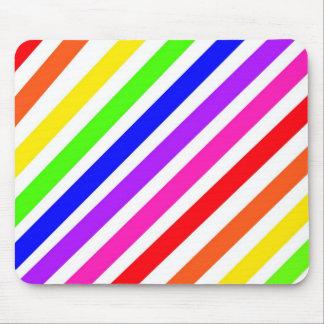 Fun Stripes Mouse Pad