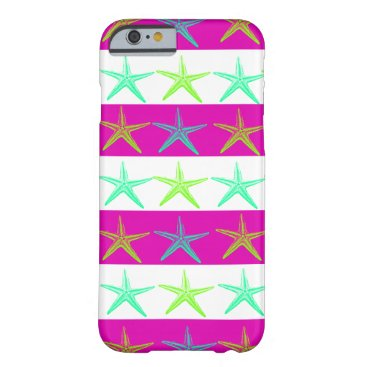 Beach Themed Fun Summer Beach Starfish iPhone 6 Case
