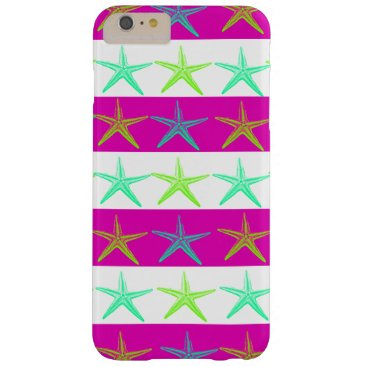 Beach Themed Fun Summer Beach Starfish iPhone 6 Plus Case
