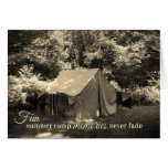 Fun Summer Camp Memories Never Fade-Vintage Tent Cards
