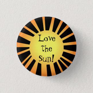 Fun summer love pinback button