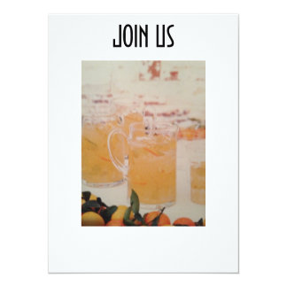 FUN SUMMER TIME PARTY INVITATION