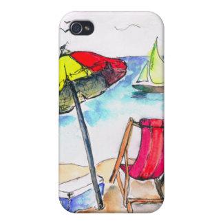 Fun Sunny Beach i Cover For iPhone 4