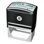 "[ Thumbnail: Fun ""Super Job!"" Grading Rubber Stamp ]"