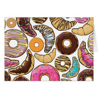 Fun Tasty Donuts Design Card