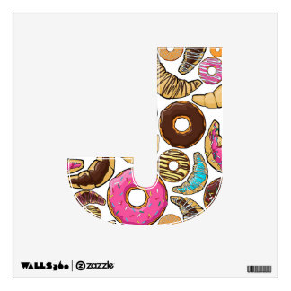 Fun Tasty Donuts Design Wall Decal