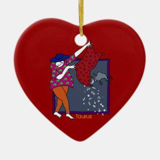 Fun Taurus Ornament