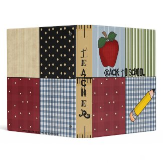 Fun! Teacher or Student School Notebook Avery Bind binder