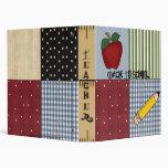 Fun! Teacher or Student School Notebook Avery Bind Binder