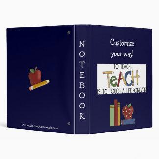 Fun Teacher's Notebook Avery Binder